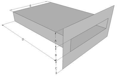 Spuwer Aluminium - Model Haaks 1