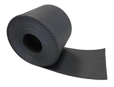Alpha-flex Zwart 25 cm x 10 mtr