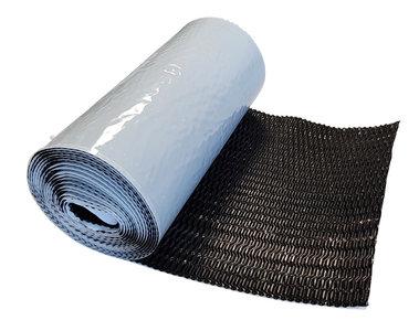 Alu-Flex Zwart 30 cm x 5 mtr