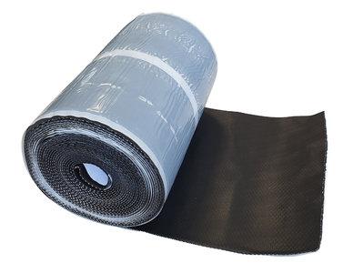 Alpha-flex Zwart Zelfklevend 30 cm x 10 mtr