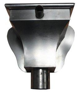 Vergaarbak AGS - Zink 14 (0,8 mm) - diam. 100 mm