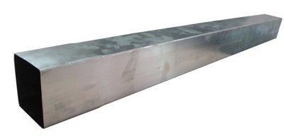 HWA Buis Zink - Vierkant 80 mm - Lang 3 meter