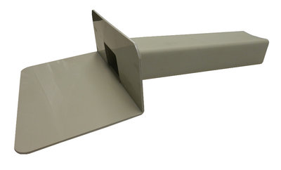 Kiezelbak PP - 90 gr - 60 x 100 mm - t.b.v. Stadsuitloop - Lang 30 cm