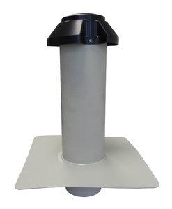 Dubbelwandige Ontluchting PP - diam. 125 mm Uitwendig