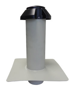 Dubbelwandige Ontluchting PP - diam. 250 mm Uitwendig