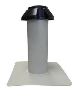 Enkelwandige Ontluchting PP - diam. 160 mm Uitwendig