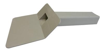 Kiezelbak PP - 45 gr - 60 x 100 mm - t.b.v. Stadsuitloop - Lang 50 cm