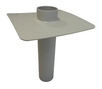 Noodoverloop PP - diam. 90 mm - Lang 30 cm