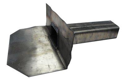 Kiezelbak Lood - 90 gr - 60 x 100 mm - t.b.v. Stadsuitloop - Lang 30 cm
