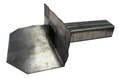 Kiezelbak Lood - 90 gr - 60 x 100 mm - t.b.v. Stadsuitloop - Lang 40 cm