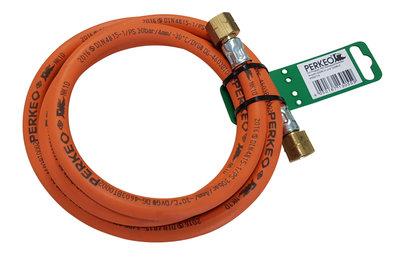 PERKEO Gasslang Propaan  - compleet - 3/8 - 2,0 mtr