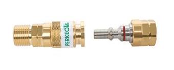 PERKEO Snelkoppeling set - 3/8 bi - 3/8 bu