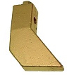 Soldeerbout Koper met schroef M8 - Groot 750 gr