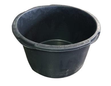 Mengkuip 90 ltr zwart