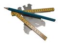 Zinken-Verholen-Goot-op-maat-Zink-14-(08-mm)-Lang-200-cm